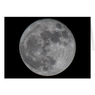 Tarjeta Luna estupenda