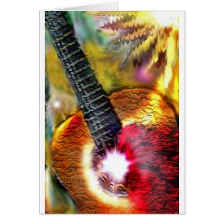 Tarjeta Luz del sol del flamenco