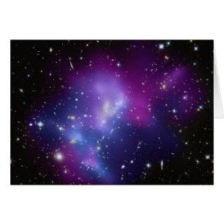 Tarjeta MAC J0717 del racimo de la galaxia