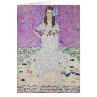 Tarjeta Mada Primavesi de Gustavo Klimt