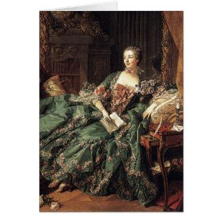 Tarjeta Madame de Pompadour