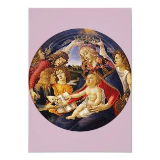 Tarjeta Madonna del Magnificat por Botticelli