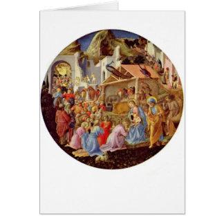 Tarjeta Madonna y niño - Fra Angelico - 1564