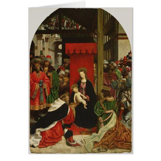 Tarjeta Madre Maria y Jesús