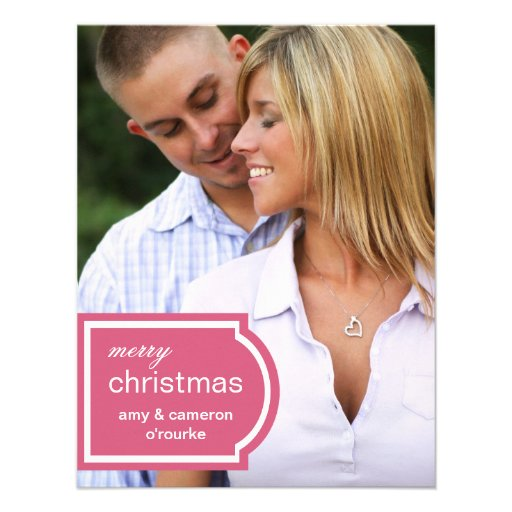 Tarjeta-madreselva marcada con etiqueta del navida comunicado personal