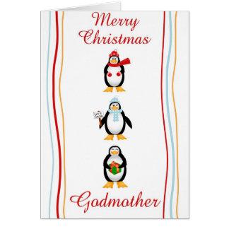 Tarjeta Madrina de Navidad