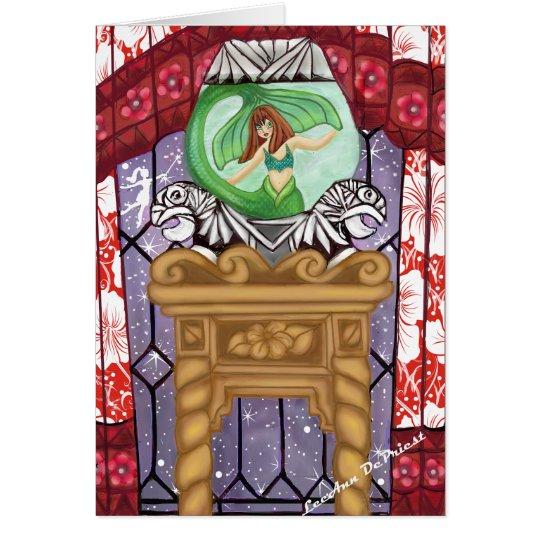 Tarjeta Magia de hadas pacífica