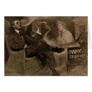 Tarjeta Magia dulce del humo 1903
