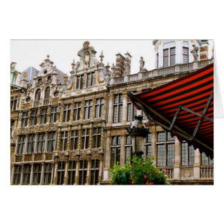 Tarjeta Magnífico-Lugar de Bruselas