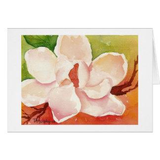 Tarjeta Magnolia Notecard