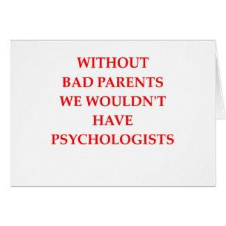 Tarjeta malos padres