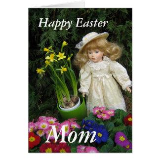 Tarjeta Mamá feliz de Pascua