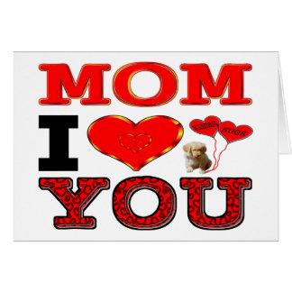 Tarjeta Mamá te amo