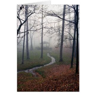 Tarjeta Mañana de niebla