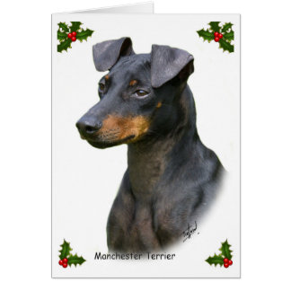 Tarjeta Manchester Terrier 8W13D-07