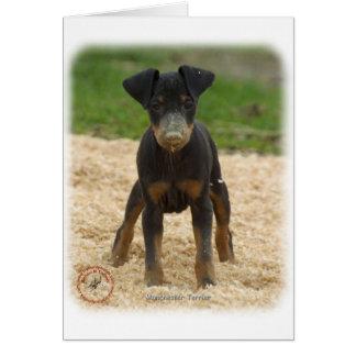 Tarjeta Manchester Terrier 9B082D-03