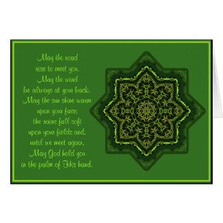 Tarjeta Mandala céltica A035 que bendice Card.2-May el
