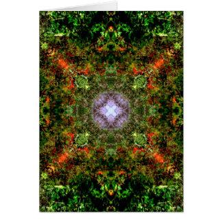 Tarjeta Mandala de California