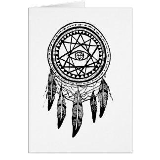 Tarjeta Mandala de la búsqueda de Dreamcatcher Vision