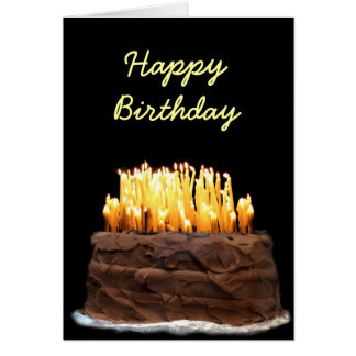 Tarjeta Manera de la manera sobre el cumpleaños de la