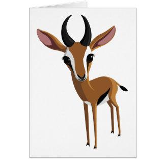 Tarjeta Mango el Gazelle