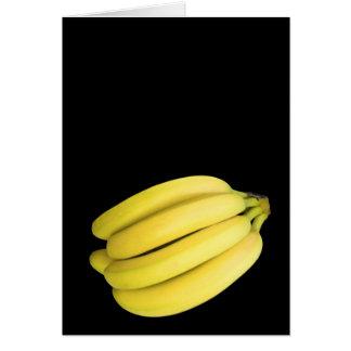 Tarjeta Manojo de plátanos