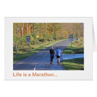 Tarjeta Maratón