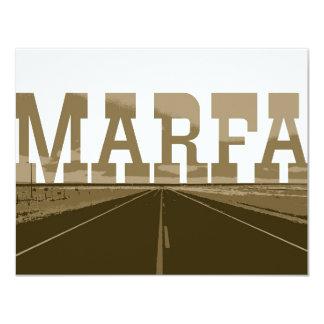 Tarjeta Marfa Tejas