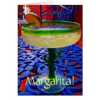 Tarjeta ¡Margarita!