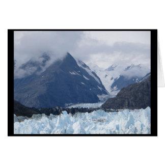 Tarjeta Margerie glaciar septiembre de 2016