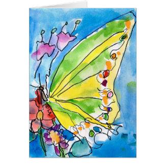 Tarjeta Mariposa de Jeffrey Shutt, edad 6