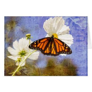 Tarjeta Mariposa de monarca