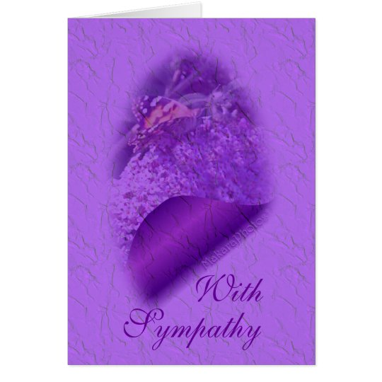 Tarjeta Mariposa-personalizar suave de LavTint cualquier