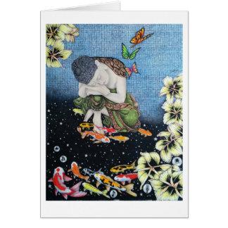 Tarjeta MARIPOSA V IDEAL (meditación sagrada del jardín)