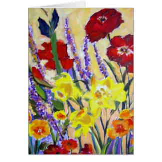 Tarjeta Más de las flores de Dianne