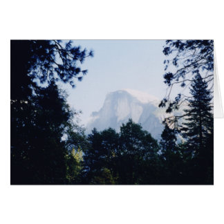 Tarjeta Media bóveda, parque nacional de Yosemite