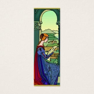 Tarjeta medieval de la señal