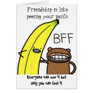 Tarjeta Mejores amigos