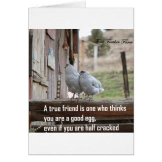 Tarjeta meme del amigo