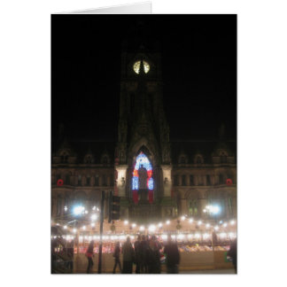 Tarjeta Mercado alemán cuadrado del navidad de Albert,
