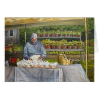 """Tarjeta """"Mercado de la colina de la menta """""""
