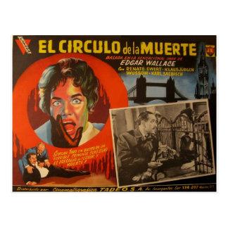 Tarjeta mexicana del pasillo del vintage:  Edgar Postal