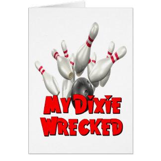 Tarjeta Mi Dixie arruinó bolos