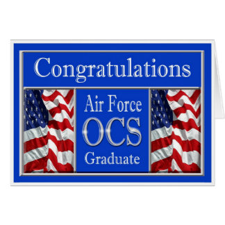 Tarjeta militar de la graduación de la fuerza