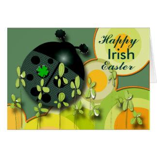 Tarjeta Mismo irlandés Pascua