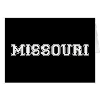 Tarjeta Missouri