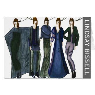 Tarjeta Moda inmóvil