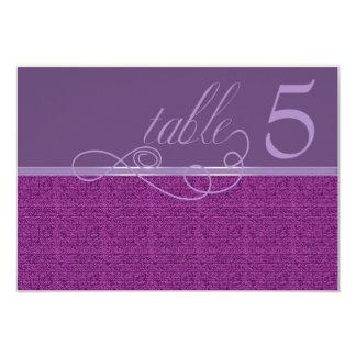 Tarjeta moderna de la tabla del ciruelo de la invitación 8,9 x 12,7 cm