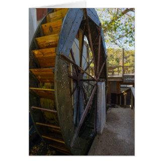 Tarjeta Molino de Dawt de la rueda de agua