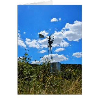 Tarjeta Molino de viento de Upaya